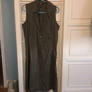 DKNY shirt dress size 8